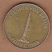 AC - WERNHER VON BRAUN JUPITER C 1958 SHELL TOKEN - JETON - Monetary /of Necessity