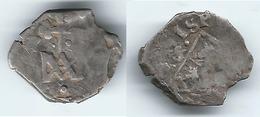 ESPAÑA CARLOS II  REAL TIPO MARIA 1680 SEVILLA PLATA 0217 Z - [ 1] …-1931 : Reino