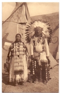 PK - Sioux Indians - Pine Ridge Dakotah US - Expo Brussels 1935 Bruxelles Brussel - - Indiens De L'Amerique Du Nord