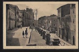 CALTANISSETTA - Bastioni Del Collegio Sur Corso Umberto I - Ed. G. Calogero - Caltanissetta
