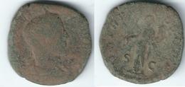 ROMA SESTERCIO A IDENTIFICAR 0217 Z - Romanas