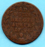 R27/  AUSTRIAN NETHERLANDS  2 Liards 1794  Franz II (1792-1835) KM#57  PAYS BAS AUTRICHIEN - [ 1] …-1795 : Période Ancienne