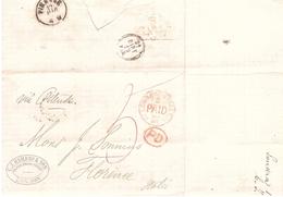 LOMBARDO STREET B PAID C.J.HAMBRO & SON LONDON - 1840-1901 (Victoria)