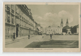 Pologne Poland - Temesvar Losonczy Tèr A Varmegyehazaval 1919 - Polen
