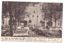 AK - Gruss Aus Den Pharus Salen - Berlin Mullerstrasse 142 - Verstuurd 1908 - Hotels & Restaurants