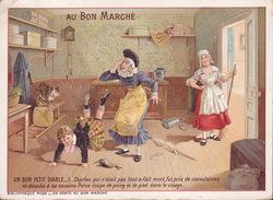 CHROMO - Publicite - Au Bon Marché - Un Bon Petit Diable - 11 - Au Bon Marché