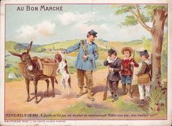 CHROMO - Publicite - Au Bon Marché - Mémoires D'un âne - 165 - Au Bon Marché