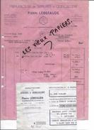 47 - Lot-et-garonne - BON-ENCONTRE - Facture LEBEFAUDE - Manufacture De Serrures Et Quincaillerie - 1948 - REF 60B - 1900 – 1949