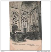 TLDTPA2733CPA-LFT5949TES.Tarjeta Postal DE TOLEDO.ARTE.Arquitectura.sepulturas,Escultura SEPULCROS.CATEDRAL DE  TOLEDO. - Esculturas
