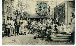 CHAUMONT Descente De Lit Dans La Cour Du 109° - Chaumont