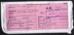 Philippines: Registered Cover To UAE, 2016, 7 Stamps, Pink CN07 Label At Back, Various Cancel & Labels (minor Damage) - Filippijnen