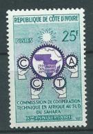 Cote D'ivoire  - - Yvert N° 190 **  Petite  Et Légère Adhérenes De Couleur Au Dos  Aab8904 - Ivory Coast (1960-...)