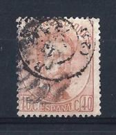 SP22) 1872-73 Effigie AMEDEO I  12c. USED  Unific. 124 - 1872-73 Regno: Amedeo I