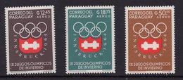 Paraguay 1964. Juegos Olimpicos De Invierno De Innsbruck. Correo Aereo. MNH. **. - Paraguay