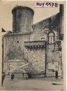 Lazio-latina-fondi Era Littoria Veduta Animata Castello E Palazzo Baronale Anni/30 - Italia