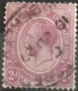 SUDAFRICA - AFRICA DEL SUR 1913 -1922 King George V. USADO - USED. - África Del Sur (1961-...)