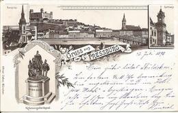 1898 - BRATISLAVA, Gute Zustand, 2 Scan - Slovaquie