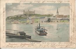 1900 - BRATISLAVA, Gute Zustand, 2 Scan - Slowakei