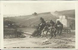 CPA - Salon 1904 N° 239 - BRUNET HOUARD - La Locomotive La Lison Venant Se Broyer Sur Un Fardier. - Peintures & Tableaux