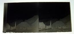 Lac Annecy Haute Savoie  Négatif Sur Plaque De Verre Stéréoscopiques 6X12,5 Cm Env - Glass Slides
