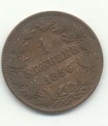 ALLEMAGNE 1 Kreuzer Friedrich I 1856 - Groschen & Andere Kleinmünzen