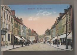 CHARLEVILLE - Rue Thiers Et Grand' Rue - Colorisée - Animée - Charleville