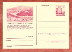 P 415 Wien Erdberg, Abb: Markt Pernitz, Ungebraucht (35995) - Postwaardestukken