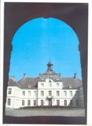 Photo ( Format A4) Du Château De WARFUSEE - Fiche Didactique Au Verso - Edition ELF Carburant - Collections