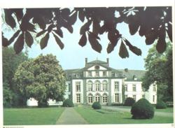 Photo ( Format A4) Du Château De BOIS SEIGNEUR ISAAC - Fiche Didactique Au Verso - Edition ELF Carburant - Collections