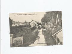 ETAMPES 50 LES BORDS DE LA RIVIERE D'ETAMPES 1916 - Etampes