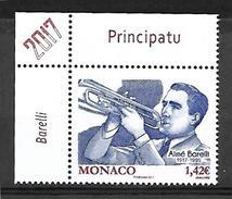 Monaco 2017 - Yv N° 3069 ** - Aimé Barelli (Mi N° 3326) - Neufs