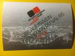 3684 - Suisse Valais  Dôée 150 Ans Entreprise Von Moos Stahl - Etiquettes