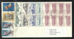 ITALIA REPUBBLICA ITALY REPUBLIC 15 3 2001 GIORNATA DEL FRANCOBOLLO NATALE ANNO SANTO ALTRI LETTERA COVER - 6. 1946-.. Repubblica