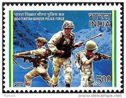 India - 2012 - Indo-Tibetan Border Police Force - Mint Stamp - India