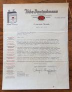 CANTON MASS. TOBE DEUTSCHMANN CORPORATION  PER MODENA IL 20/4/1929 - United States