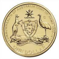 """AUSTRALIA  1 DOLLAR $ 2.008  SC/UNC  """"C""""     DL-6183 - Decimal Coinage (1966-...)"""
