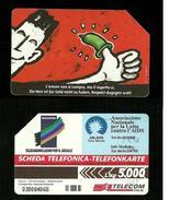 56 AA Golden - Bilingue - Lotta Contro Aids Da Lire 5.000 - Pubbliche Speciali O Commemorative