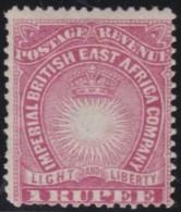 British East Africa       .       SG     .    14      .     *       .      Ongebruikt   .    /    .   Mint-hinged