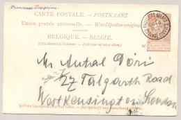 België - 1903 - Postkaart Oostende-Dover - Paquebot Princesse Josephine - Naar London