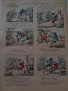 Imagerie   D'EPINAL : Le Loup Devenu Berger   ,n°3059, H 40,L 29,5 - Oude Documenten
