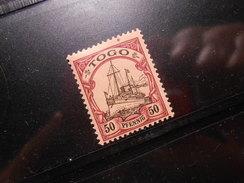 D.R.Mi 14   50Pf**/MNH  - Deutsche Kolonien ( TOGO ) 1900/19   Mi € 6,00 - Colony: Togo