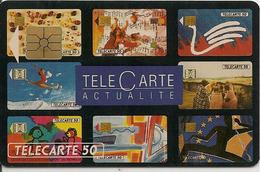 CARTE°-PUBLIC-F273-50U-04/ 92-SO2-TELECARTE ACTUALITE- V° N° A 244367-UTILISE- TBE-RARE- - 1992