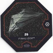 STAR WARS 2016 - Jeton Leclerc Cosmic Shells N° 26 - FINALIZER - Autres Collections