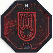 STAR WARS 2016 - Jeton Leclerc Cosmic Shells N° 19 - FIRST ORDER - Autres Collections