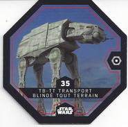 STAR WARS 2016 - Jeton Leclerc Cosmic Shells N° 35 - TB - TT - Autres Collections