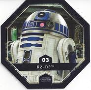 STAR WARS 2016 - Jeton Leclerc Cosmic Shells N° 3 - R2 D2 - Autres Collections
