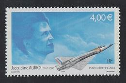 2003 - TIMBRE POSTE AERIENNE NEUF - Hommage à L'aviatrice Jacqueline Auriol (1917-2000) - N° YT : 66 - 1960-.... Nuovi
