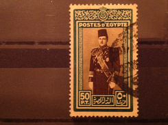 Egypt 1939 50p King Farouk SG 282 Yv 218 Sc 239 - Used Stamps