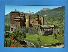 Valle D'Aosta - CASTELLO Di FENIS. Annullo Fiera Di Sant Orso 1984  Vedi Descrizione, - Schlösser
