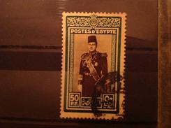 Egypt 1939 50p King Farouk SG 282 Yv 218 Sc 239 - Egypt